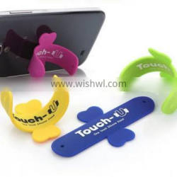 Silicone Cell Phone Card Holder Silcone Phone Holder