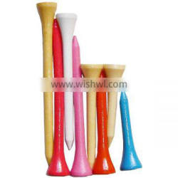 Colorful Wooden Golf Tee