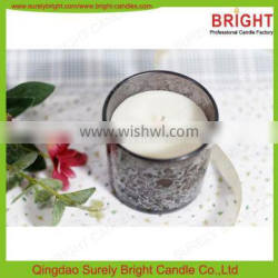 Wholesale Scented Christmas Decorative Glass Candle