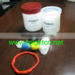 Colorful thermoplastic prototype material with medical grade