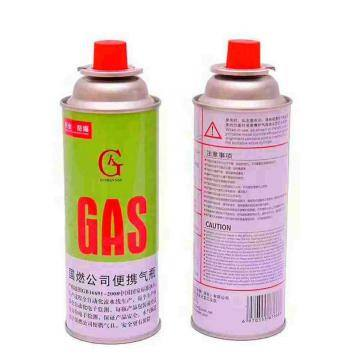 220G Nozzle Type Empty butane canister gas can butane gas canister