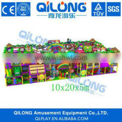 Kids Educational Soft Play Area Equipment With Toys accessories.