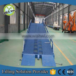 Hot sale True win High safety performence easy to operate Yard Ramp for sale