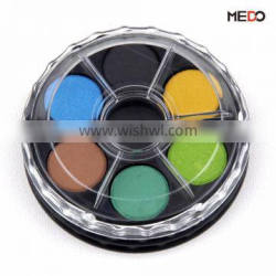 Solid tempera discs with 2.1cm color cake