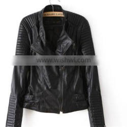 Hot sale women clothing jackets womens european style fur coat leather shirts