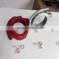 baked painting clamp/ 5 inch fixed clamp for conneting pipes