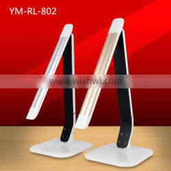 Newest products portable USB rechargeable flexible arm led table lamp Energy Saving