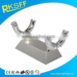 Scroll Certificate holder with Silver Stand for wedding party