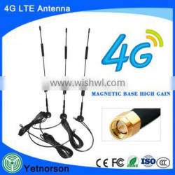 huawei 4g modem wifi with magnetic bae antenna ts9/crc9/sma