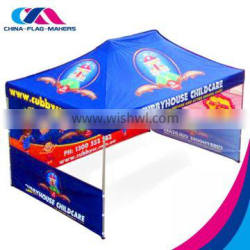 Chinese full color print portable trade show promotion decoration tent for sale
