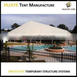 Best quality white color clear span outdoor swimming pool tent