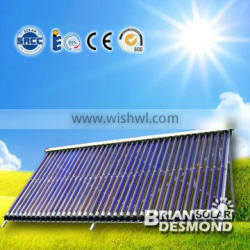 Best Quality Direct Flow Heat Pipe Vacuum Tube Solar Collector