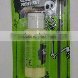 60ml neon& glow in dark acrylic paint with a brush