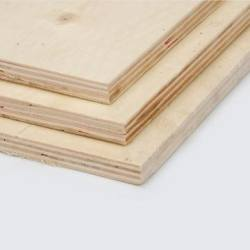 Two Times Hot Pressing Film Faced Plywood Sheet for Building Construction