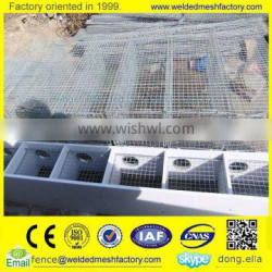PVC Coated Welded Mesh Panels for Mink Cage