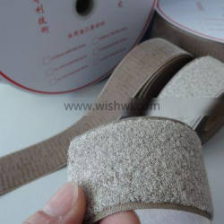 Hook And Loop Roll Conductive Rubber Loop Electrodes For Anti Radiation