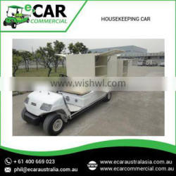 Hot Selling Hotel Electric Housekeeping cart with Trailer LT-A2.GC