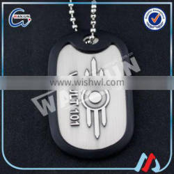 2016 promotional soldier engraved thick dog tag