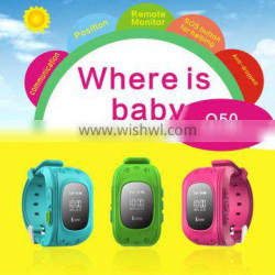 GPS Tracker SOS Call Children Smart Watch For Android IOS iPhone Anti-lost Kids