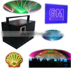 programmable full color party stage laser 10W dj lighting