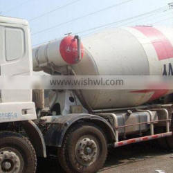 Second hand China Sany 9m3 mixer truck for sale