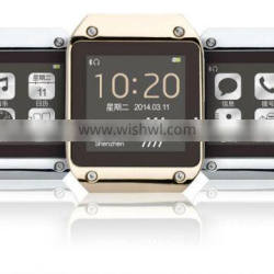 PW305 Smart watches men 400mAh Sync w/ phone Call/SMS/contact/Social/Weather. Music &Cam. Control/health app/find my phone