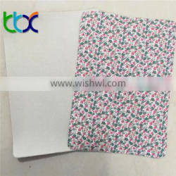 Popular Polyester printed fabric with EVA coated fabric