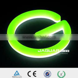 2016 high bright sample offer 3D custom acrylic neon channel sign