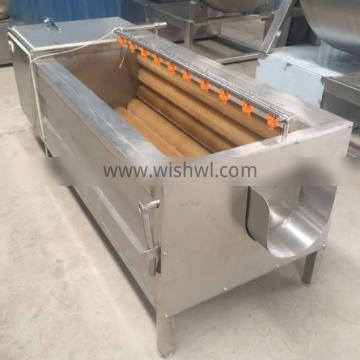 With Sorting Carrot Processing Machine Automatic Discharging