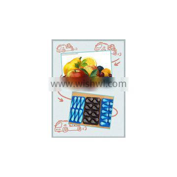 Wholesale in America 15LB Black Blue Fruit Tray Liners