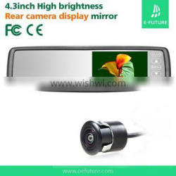 """4.3"""" Mirror monitor rearview system,backup camera for pickup truck"""