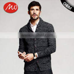 china factory thick button cardigan winter mens sweater design for hot sale