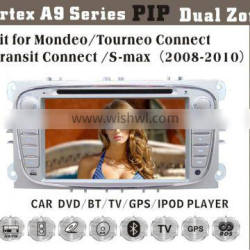 6.2inch HD 1080P BT TV GPS IPOD Fit for ford mondeo/S-max touch screen car dvd player gps