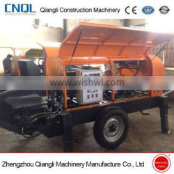 High efficiency mini concrete pump with good quality and low price