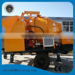 ISO & CE concrete mixer with pump for construction