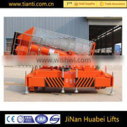 gold supplier compact structure full retractable hydraulic mobile work lift