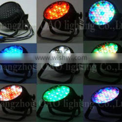 ZOOM 54*3W RGBW led par can stage light stand