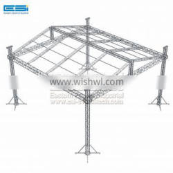Cheap Price Used Outdoor Mini Mobile Stage DJ Light Box Aluminum Truss System For Concert Event