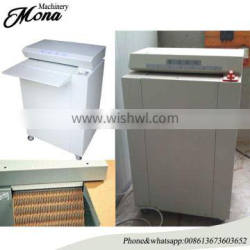 Factory direct supply corrugated board shredder machine with low price