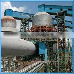 Welded Steel Pusher Vertical Preheater Active Lime Rotary Kiln Preheater