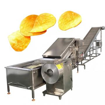 260kg output capacity potato chips making machine production line / potato chips making equipment price