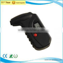 tire inflator gauge with LCD digital screen