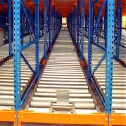 High Quality Storage Carton Flow Pallet Rack with Roller Track for Storage