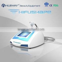 Expression Lines Removal 2016 New Design Portable HIFUSHAPE Hifu Slimming High Intensity Focused Ultrasound Hifu Machine Eye Lines Removal