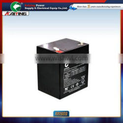 12V 5AH Storage Battery Used for UPS Sealed Lead Acid Battery Rechargeable