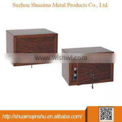 2014 newstyle safe box with wooden mini wall safe