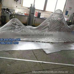 Market Customized Unique Abstract Art Modeling Stainless Steel Rabbit Sculpture
