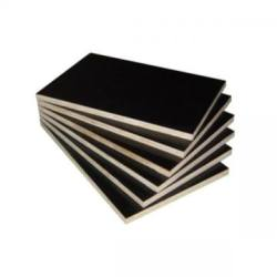 1220mm*2440mm Hot Sale Black Film Faced Plywood for Building Shuttering