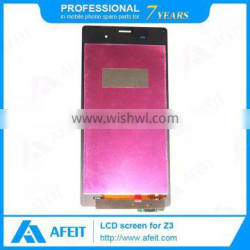 Cheap price for sony xperia z3 lcd display, Display Screen For sony z3 lcd and digitizer assembly