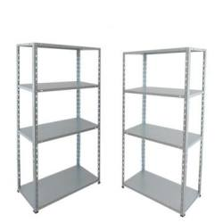 Boltless metal shelving racking for warehouse storage collapsible shelf and rack for shops